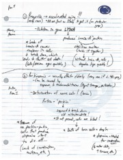Protein Notes