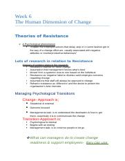 lecture notes on dimensions of change .docx