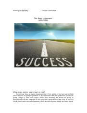 chinese7 the road of success.docx