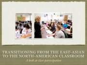East Asians in the North American classroom