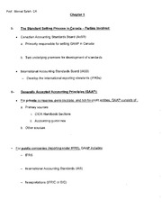 Acco 310 - Chapter 1 Handout
