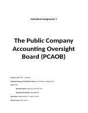 PCAOB research paper .docx