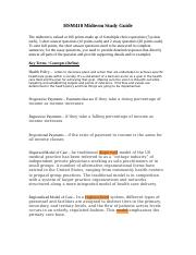 HSM410_Midterm_Study_Guide.docx