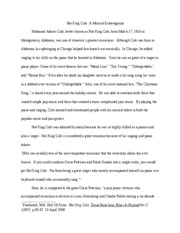 Music 2040 Nat King Cole essay
