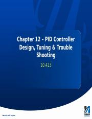 Chapter 12 - PID Controller Tuning.pptx