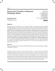 Democratic Transitions in Myanmar_Challeneges Ahead.pdf
