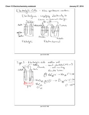 Electrolytic Cells Notes