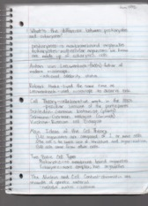 Lecture 3 Notes Biology