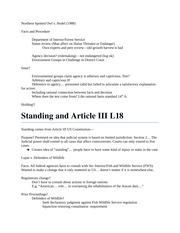 Standing and Article III L18