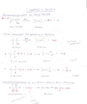 Orgo 1 Chapter 7 RXNS