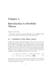 introduction to portfolio theory lecture notes.pdf
