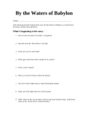 english old bridge high course hero 3 pages by the waters of babylon questions