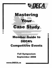 Mastering Your Case Study