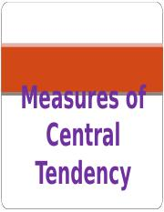 Chapter 3_Measures of Central Tendency.ppt