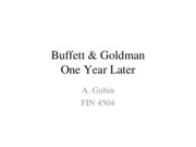 Buffett %26 Goldman