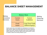 6-Working Capital Management Financing Arrangements