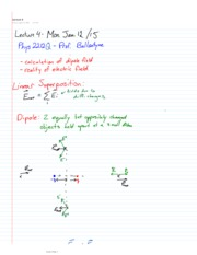 All Notes, Dipoles to E. Mag Radiation
