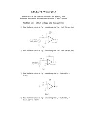 374 Problem Set and Solutions