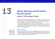 KW_Macro_Ch_13_Sec_01_The_Meaning_of_Money