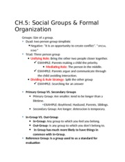 Notes ch 5& 6 and 8