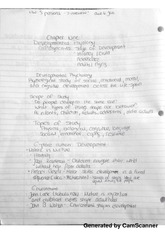 Developmental Psychology Notes