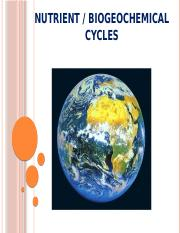 biogeochemical cycle-7th lecture - Copy