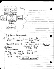 MAT 241 - Notes 7.4 Partial Fraction Decomp.