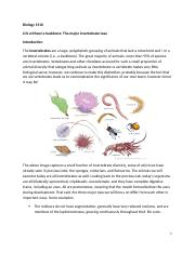 07 BIOL 1510 Lab Manual- Life without a backbone.docx