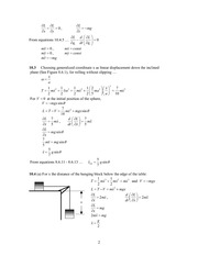 Analytical Mech Homework Solutions 140