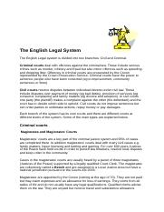 The legal system.doc