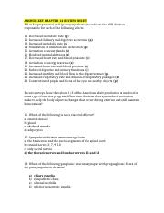 Review sheet chapter 14 answer key