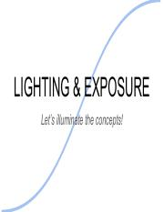 Lighting And Exposure.pdf
