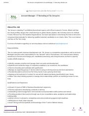 3. TAL Group - Job Position - IT Recruiting.pdf