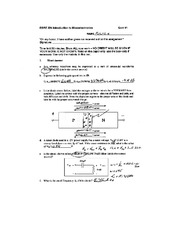 Quiz A Solutions on Microelectronics