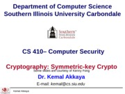 Cryptography-SymmetricKey