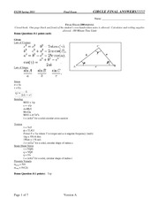 2011-ES230-Final-Exam on Strength of Materials