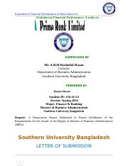 Evaluation of Financial Performance of Prime Bank Ltd..docx