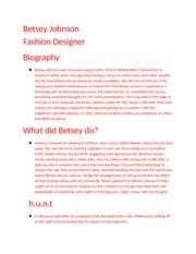 Betsey Johnson Fashion Designer Betsey Johnsonfashion Designer By