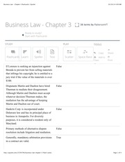 BUA Chapter 3 flashcards | Quizlet