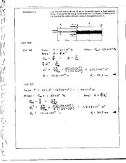 3_Mechanics Homework Mechanics of Materials Solution