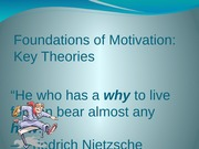 5Foundations of Motivation