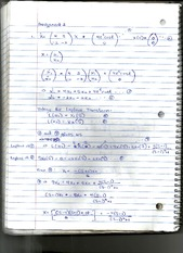 Mathematical Modelling 2014 Assignment 3 solutions