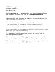 ANT 100 Homework assignment 3 (1).docx