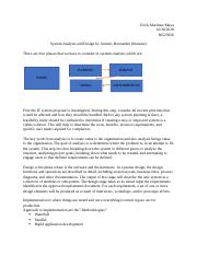 Systems analysis and design by Antonio Hernandez.docx