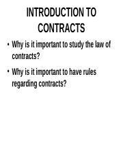 INTRODUCTION TO CONTRACTS 3:21.ppt