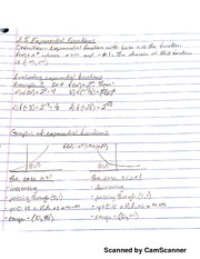 MATH 107 Intro To Exponential Functions Notes