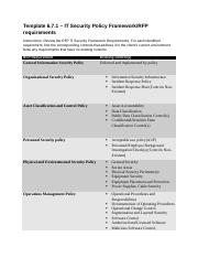 1 IT Security Policy Framework RFP requirements (RYAN).docx