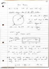 Virial Theorem Lecture Notes