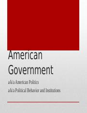 September 28 - American Government.pptx