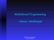 MultiThread Programming